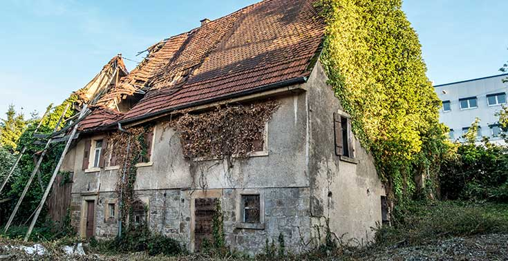 House damaged by short-term rental guests